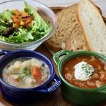 eat more SOUP&BREAD -