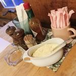 ベルデ - 料理写真:テーブル付近。