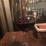 グリルド ミート バル タイジュ - グラスワイン  赤