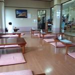 新潟市岩室観光施設いわむろや 食堂 - 座卓席