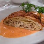 IL BALLOND'ORO - リコッタチーズとポルチーニ茸のパイ包み