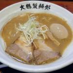 大鶴製麺処 謹製 親富孝 - 料理写真:【旨濃いラーメン + 半熟味玉】¥750 + ¥100