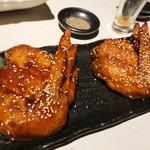 道産地鶏と本格鳥料理専門店 鳥心 - 手羽先のから揚げ