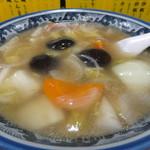 永楽苑 - とろみのある鶏ガラスープ