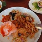 クワンチャイ タイ食堂茶屋町店 - ビュッフェ料理