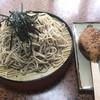 旅館藤乙 - 料理写真:五平餅&ざるそばセット
