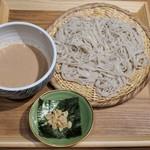 Soba&Co. - つけそば(濃厚くるみ)