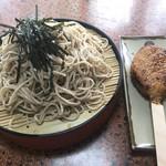 旅館藤乙 - 五平餅&ざるそばセット