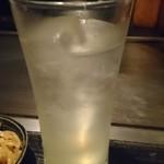 もんじゃ小町 - 酎ハイレモン