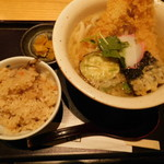饂飩 四國 - 天ぷら定食