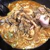 自己流ラーメン綿麺 - 料理写真:海鮮辛ラーメン 大盛 レアチャーシュートッピング