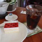 アートカフェ 松屋 - 料理写真:ケーキセット