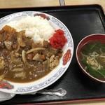 あさみ食堂 - 料理写真:カツカレー 700円