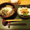 和幸 - 料理写真:とろろそばと わかさぎの天ぷら