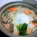 茂平食堂 - 料理写真:地酒粕なべうどん