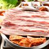 韓国トン一 - 料理写真:サムギョプサルセット