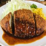 洋食 大かわ - 料理写真:メンチカツ