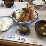 三春屋 - 海老フライ定食 1750円