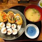 おいなり食堂 - 料理写真:おいなりセット