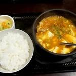 111271546 - スン豆腐定食730円