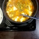 111271548 - スン豆腐 ちょっと食べてしまいました(^^;