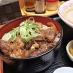 ラーメン幸雅 - 牛スジ丼