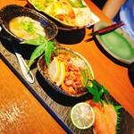 日本酒バル 蔵よし - 珍味3種盛り合わせ