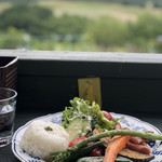 Lunch&cafe 風 - 絶景をみながら♥️
