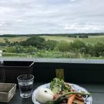 Lunch&cafe 風 - 暑くもなくいい気温♬