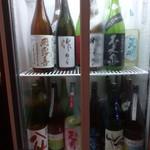 舟勝 - 日本酒の冷蔵庫