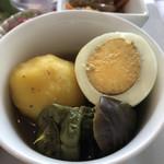 111275280 - 焼き野菜カレースープ煮