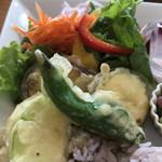 RIZZA & RIZZA CAFE - 夏野菜のフリット