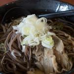 蕃山 - 料理写真:肉そば:580円/2019年7月