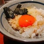 鶏焼将軍 - 鶏屋の卵かけごはん