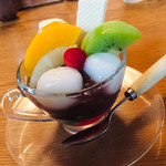 甘味茶屋 - ミニあんみつ
