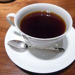 茅乃舎 - コーヒー・・見た目は美味しそうなのですが、不味いですね。 2012/1