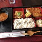 福善とんかつ - 料理写真:日替りランチ