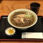 一寸亭 - 肉そば ¥700