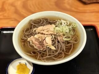 一寸亭 本店 - 肉そば ¥700