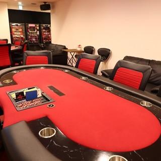 バカラ、ポーカー、ダーツ、なんでも遊べるBAR!