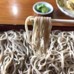 瀧不動生そば - 寒晒し蕎麦
