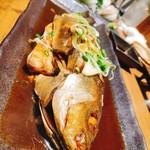 魚と日本酒 魚バカ一代 - イサキの煮付け