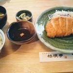 桔梗亭 - 料理写真:ロースかつ定食
