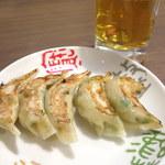 中華れすとらん とらの子 - 料理写真:餃子(350円)