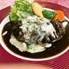 レストラン三國 - 料理写真:ハンバーグランチ(煮込み)