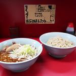 ラーメン二郎 - 料理写真:ブったまつけ麺(麺少なめ)