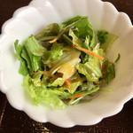 豚彩食堂 よらく - 野菜サラダ