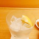 食堂まきの - グラスが極薄