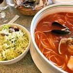 ミオ・パスタ - 魚介のトマトスープ