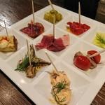 Bar espana carne - カルネ特製9種のオードブル